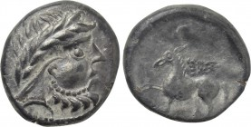 "EASTERN EUROPE. Imitations of Philip II of Macedon (2nd-1st centuries BC). Tetradrachm. ""Pegasos"" type."