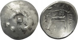 EASTERN EUROPE. Imitations of Alexander III of Macedon. Drachm (1st century BC).