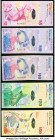 Bermuda Group Lot of 5 Examples Very Fine. (3) Replacement and (2) Onion prefix examples.  HID09801242017  © 2020 Heritage Auctions | All Rights Reser...