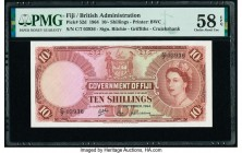 Fiji Government of Fiji 10 Shillings 1.9.1964 Pick 52d PMG Choice About Unc 58 EPQ.   HID09801242017  © 2020 Heritage Auctions | All Rights Reserved