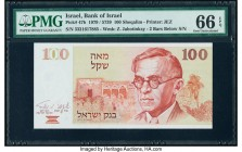 Israel Bank of Israel 100 Sheqalim 1979 / 5739 Pick 47b PMG Gem Uncirculated 66 EPQ.   HID09801242017  © 2020 Heritage Auctions | All Rights Reserved