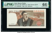 Italy Banco d'Italia 20,000 Lire 21.2.1975 Pick 104 PMG Choice Uncirculated 64 EPQ.   HID09801242017  © 2020 Heritage Auctions | All Rights Reserved