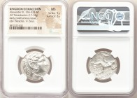 MACEDONIAN KINGDOM. Alexander III the Great (336-323 BC). AR tetradrachm (25mm, 17.14 gm, 2h). NGC MS 5/5 - 3/5. Early posthumous issue of Susa, ca. 3...