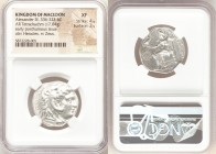 MACEDONIAN KINGDOM. Alexander III the Great (336-323 BC). AR tetradrachm (25mm, 17.04 gm, 6h). NGC XF 4/5 - 3/5. Posthumous issue of 'Babylon', ca. 31...