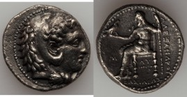MACEDONIAN KINGDOM. Alexander III the Great (336-323 BC). AR tetradrachm (27mm, 16.84 gm, 2h). VF. Early posthumous issue of 'Babylon', ca. 323-317 BC...