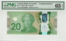 Canada - 20 Dollars - PMG 65EPQ - (2015) Commemorative