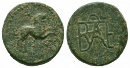 KINGS of BOSPORUS. Polemo I. Circa 14/3-10/9 BC. AE Bronze