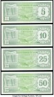 Aruba Banco Central 5; 10; 25; 50 Florin 1986 Pick 1; 2; 3; 4 Four Examples Crisp Uncirculated.   HID09801242017  © 2020 Heritage Auctions | All Right...