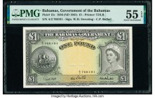 Bahamas Bahamas Government 1 Pound 1936 (ND 1961) Pick 15c PMG About Uncirculated 55 EPQ.   HID09801242017  © 2020 Heritage Auctions | All Rights Rese...