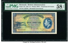 Bermuda Bermuda Government 1 Pound 12.5.1937 Pick 11b PMG Choice About Unc 58 EPQ.   HID09801242017  © 2020 Heritage Auctions | All Rights Reserved