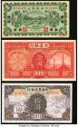 China Group Lot of 3 Examples About Uncirculated-Crisp Uncirculated. Stains are present on the Sino-Scandinavian Bank 1 Yuan.  HID09801242017  © 2020 ...