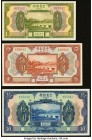 China Chinese Italian Banking Corporation 1; 5; 10 Yuan 1921 Pick S253r; S254r; S255r Three Remainders Crisp Uncirculated.   HID09801242017  © 2020 He...