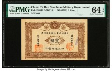 China Ta Han Szechuan Military Government 1 Yuan ND (1912) Pick S3948 S/M#T14-1 PMG Choice Uncirculated 64 EPQ.   HID09801242017  © 2020 Heritage Auct...