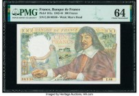 France Banque de France 100 Francs 23.3.1944 Pick 101a PMG Choice Uncirculated 64.   HID09801242017  © 2020 Heritage Auctions | All Rights Reserved