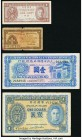 Hong Kong, Malaya and Macau Group Lot of 8 Examples Fine-About Uncirculated. Minor rust stains on the two 1940-41 Hong Kong 1 dollars; edge and center...