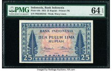 Indonesia Bank Indonesia 25 Rupiah 1952 Pick 44b PMG Choice Uncirculated 64 EPQ.   HID09801242017  © 2020 Heritage Auctions | All Rights Reserved