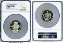 "Republic silver Proof ""Spanish Kings & Queens"" 30 Pesos (3 oz) 1992 PR68 Ultra Cameo NGC, KM379. Mintage: 550. 500th Anniversary issue.   HID098012420..."