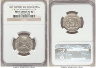 Republic Mint Error - Struck on Foreign Planchet 25 Centavos 1979 XF40 NGC, cf. KM51 (for type). 5.6gm. Struck on a US 25 Cents planchet. The perfect ...