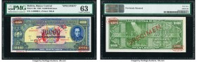 Bolivia Banco Central 10,000 Bolivianos 20.12.1945 Pick 146s Specimen. PMG Choice Uncirculated 63; previous mounting noted.  HID09801242017  © 2020 He...