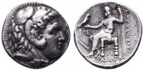 KINGDOM of MACEDON.Alexander III 'the Great',327-323 BC.AR Tetradrachm  Condition: Very Fine  Weight: 17.03gr Diameter: 27mm