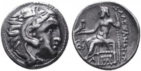 KINGDOM of MACEDON.Alexander III 'the Great',327-323 BC.AR Drachm  Condition: Very Fine  Weight: 4.20gr Diameter: 18mm