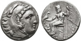 KINGDOM of MACEDON.Alexander III 'the Great',327-323 BC.AR Drachm  Condition: Very Fine  Weight: 4.13gr Diameter: 18gr