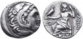 KINGDOM of MACEDON.Alexander III 'the Great',327-323 BC.AR Drachm  Condition: Very Fine  Weight: 4.27gr Diameter: 18mm