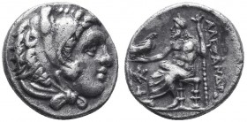KINGDOM of MACEDON.Alexander III 'the Great',327-323 BC.AR Drachm  Condition: Very Fine  Weight: 4.13gr Diameter: 18mm