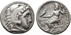 KINGDOM of MACEDON.Alexander III 'the Great',327-323 BC.AR Drachm  Condition: Very Fine  Weight: 4.15gr Diameter: 18mm