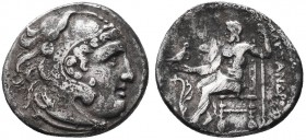 KINGDOM of MACEDON.Alexander III 'the Great',327-323 BC.AR Drachm  Condition: Very Fine  Weight: 4.16gr Diameter: 18mm