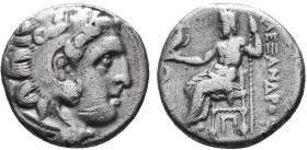KINGDOM of MACEDON.Alexander III 'the Great',327-323 BC.AR Drachm  Condition: Very Fine  Weight: 4.05gr Diameter: 17mm
