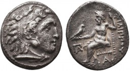 KINGDOM of MACEDON.Alexander III 'the Great',327-323 BC.AR Drachm  Condition: Very Fine  Weight: 4.10gr Diameter: 17mm