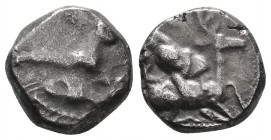 Cyprus, Kition, Baalmelek II(?) (c.425-400 BC), Silver Stater, Rare Type!  Condition: Very Fine  Weight: 11.06gr Diameter: 22mm