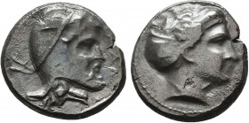 CILICIA, Mallos. Autophradates(?). Circa 380-333 BC. AR Stater. Diademed head of Aphrodite right / Head of Satrap right, wearing Persian headdress. SN...