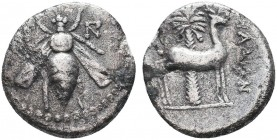 IONIA. Ephesos. Drachm (202-150 BC). Ar.  Condition: Very Fine  Weight: 3.90 Diameter: 17mm