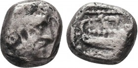 Phoenicia. Arados 380-351 BC. AR  Condition: Very Fine  Weight: 2.87gr Diameter: 12mm