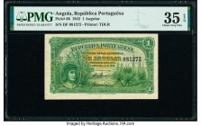 Angola Republica Portuguesa 1 Angolar 28.3.1942 Pick 68 PMG Choice Very Fine 35 EPQ.   HID09801242017  © 2020 Heritage Auctions | All Rights Reserved