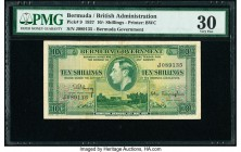 Bermuda Bermuda Government 10 Shillings 12.5.1937 Pick 9 PMG Very Fine 30.   HID09801242017  © 2020 Heritage Auctions | All Rights Reserved