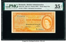 Bermuda Bermuda Government 5 Pounds 20.10.1952 Pick 21a PMG Choice Very Fine 35 EPQ.   HID09801242017  © 2020 Heritage Auctions | All Rights Reserved