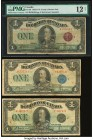 Dominion of Canada Group of 6 Examples Good (2); Fine (3); PMG Fine 12 Net. Splits and minor rust mentioned on the PMG graded note.  HID09801242017  ©...