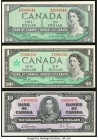 Canada Group of 3 Examples Choice About Uncirculated-Crisp Uncirculated.   HID09801242017  © 2020 Heritage Auctions | All Rights Reserved