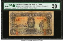 China Commercial Bank of China 5 Dollars 6.1932 Pick 14a S/M#C293-70a PMG Very Fine 20. Ink.  HID09801242017  © 2020 Heritage Auctions | All Rights Re...