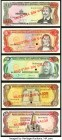 Dominican Republic Complete 1987 and 1997 Specimen Sets 15 Examples Crisp Uncirculated. The 1997 set is a matching numbered set. POCs are seen on seve...