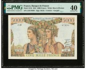 France Banque de France 5000 Francs 1.2.1951 Pick 131b PMG Extremely Fine 40.   HID09801242017  © 2020 Heritage Auctions | All Rights Reserved