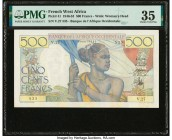 French West Africa Banque de l'Afrique Occidentale 500 Francs 6.2.1946 Pick 41 PMG Choice Very Fine 35.   HID09801242017  © 2020 Heritage Auctions | A...