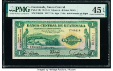Guatemala Banco Central de Guatemala 1 Quetzal 19.9.1942 Pick 14b PMG Choice Extremely Fine 45 EPQ.   HID09801242017  © 2020 Heritage Auctions | All R...