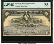 Guatemala Banco de Guatemala 100 Pesos 26.2.1924 Pick S147d PMG Very Fine 25.   HID09801242017  © 2020 Heritage Auctions | All Rights Reserved