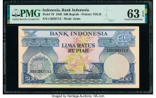Indonesia Bank Indonesia 500 Rupiah 1.1.1959 Pick 70 PMG Choice Uncirculated 63 EPQ.   HID09801242017  © 2020 Heritage Auctions | All Rights Reserved