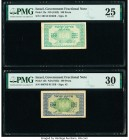 Israel Israel Government 100 Pruta ND (1952) Pick 12a; 12b Two Examples PMG Very Fine 25; Very Fine 30.   HID09801242017  © 2020 Heritage Auctions | A...