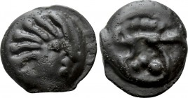 GALLIA. Senones. Potin (1st century BC). 